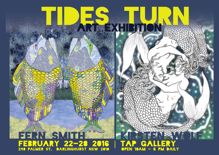 Invitation  to opening Night Tuesday 23 February 6-8 Tap Gallery