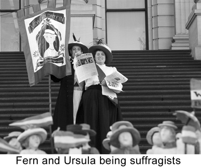 Fern Smith _art of Suffrage